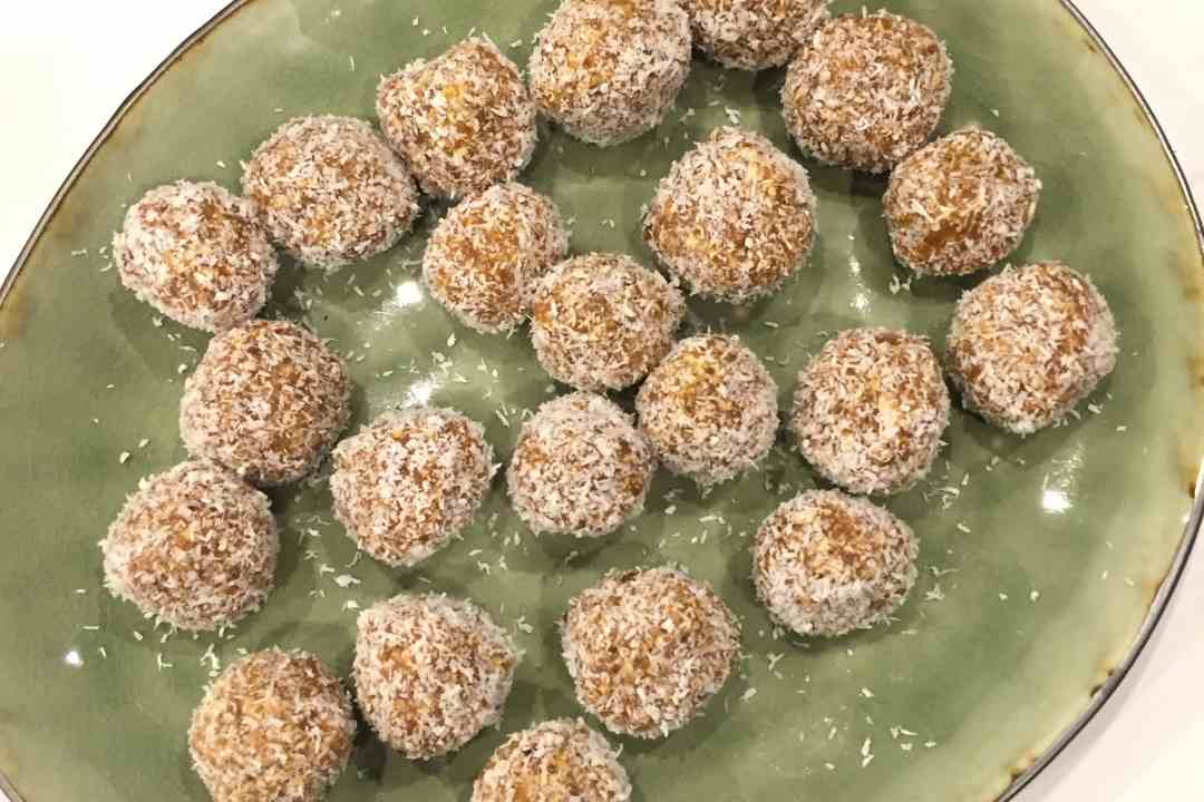 Apricot and Date Balls