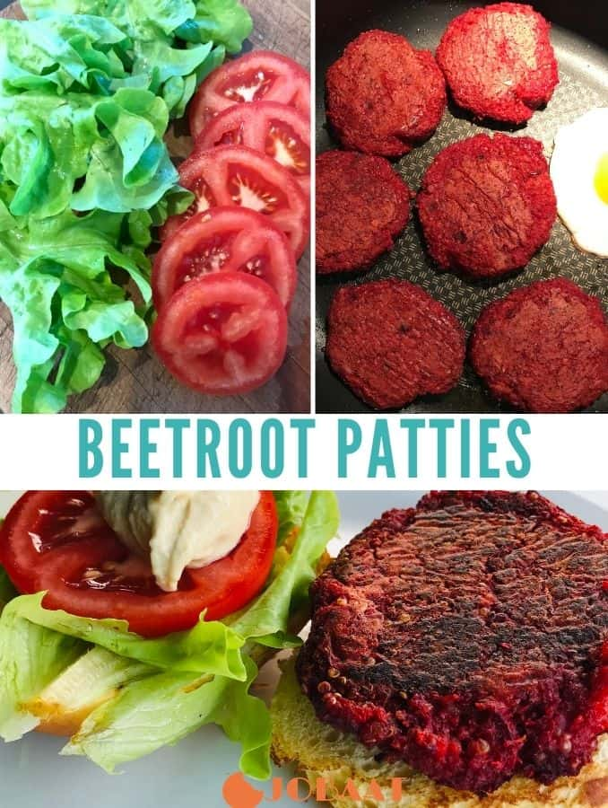 Beetroot-Patties
