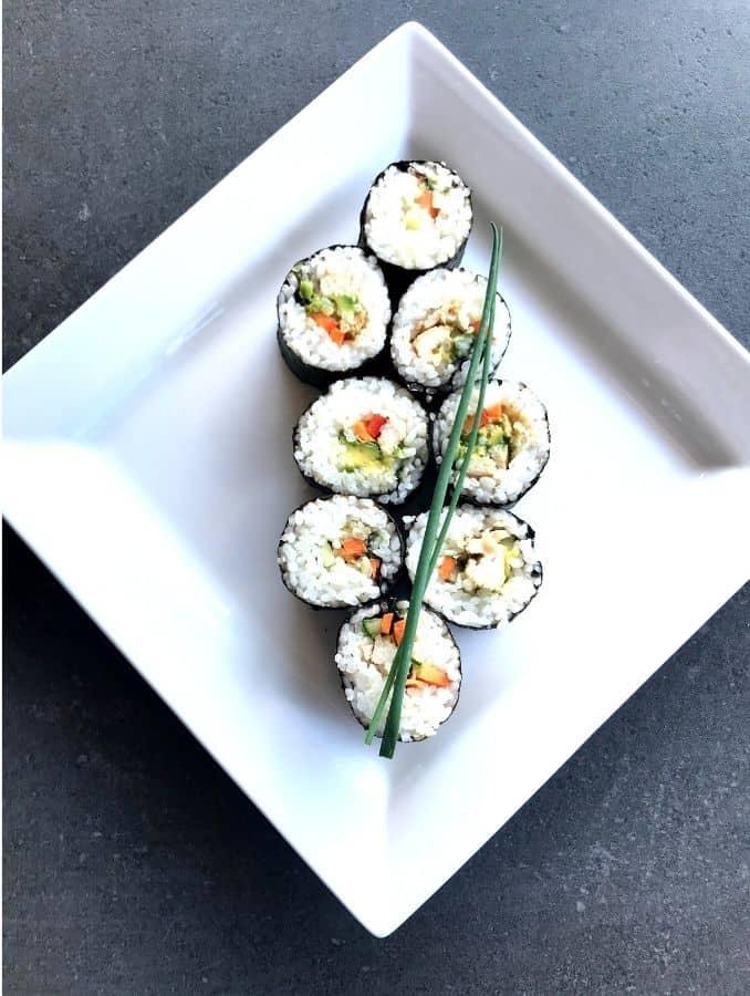 Chicken-teriyaki-nori-rolls