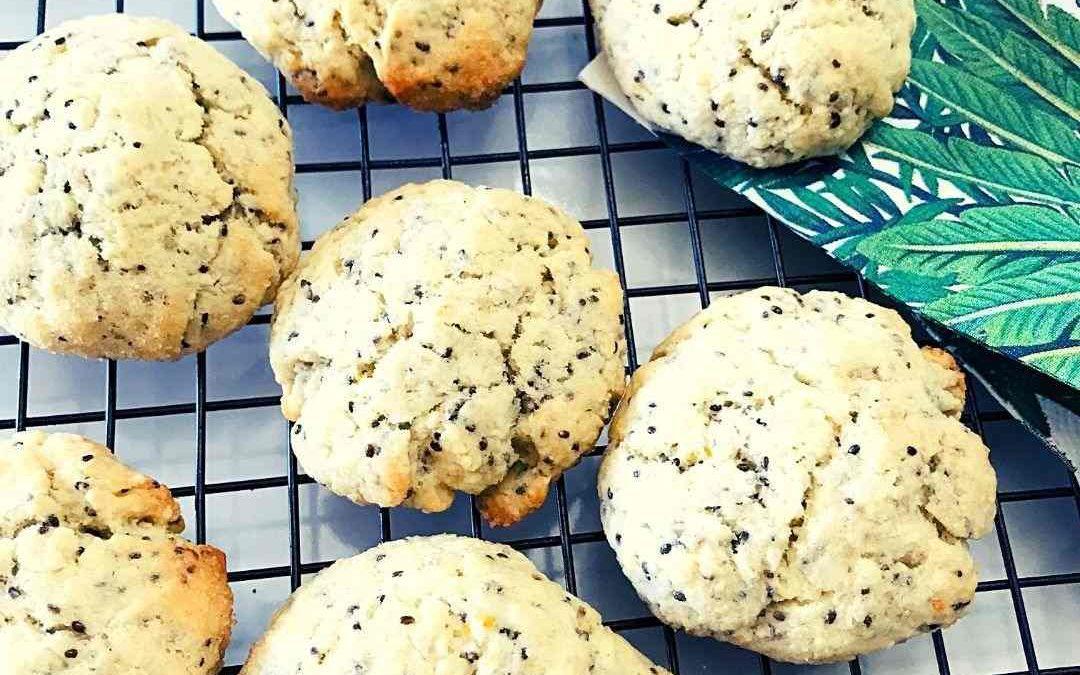 Lemon Chia Cookies