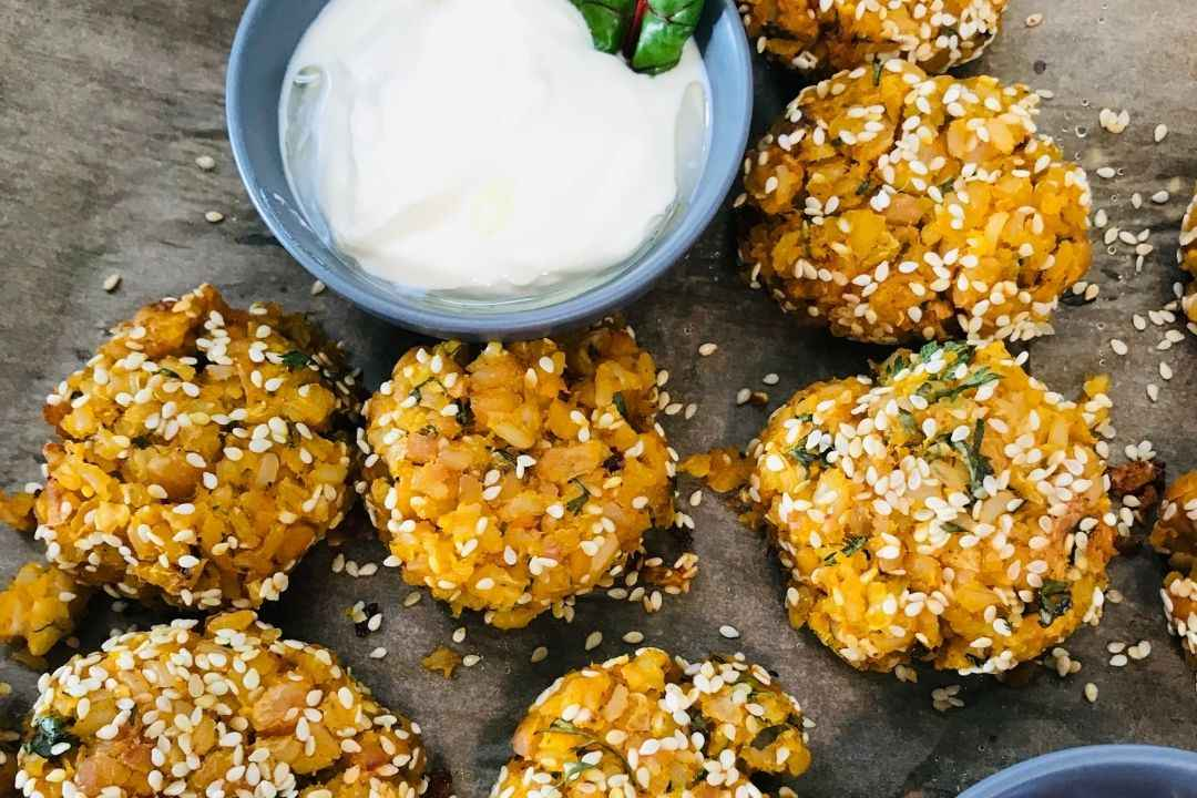 roasted-pumpkin-chickpea-and-rice-patties-